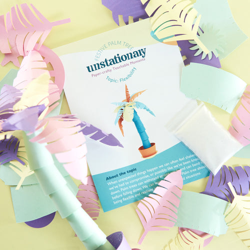Palm Tree: Teachable Paper-Craft Kit - Topic: Learning Flexibility