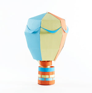 Hot Air Balloon: Teachable Paper-Craft Kit - Topic: Uplifting Words