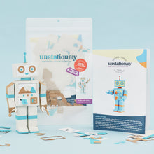 Load image into Gallery viewer, Movable Robot: Journaling Paper-Craft Kit - Topic: Uniquely Wired