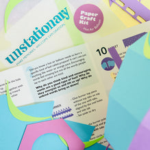 Load image into Gallery viewer, Hot Air Balloon: Teachable Paper-Craft Kit - Topic: Uplifting Words