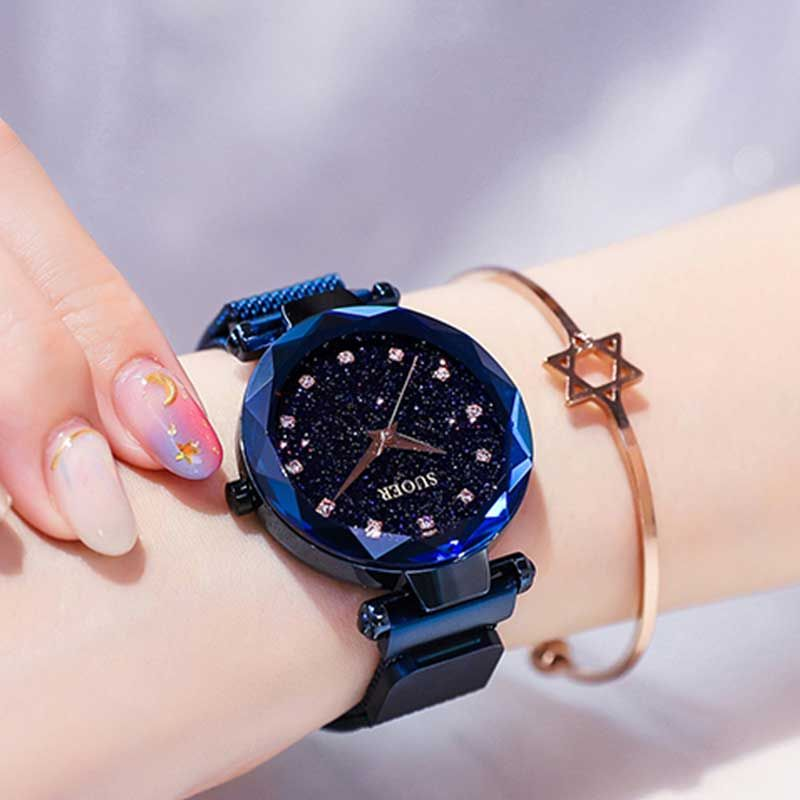 Star Watch with Flower Specular Gloss Cut