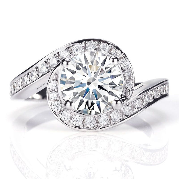 Caress Solitaire Engagement Ring