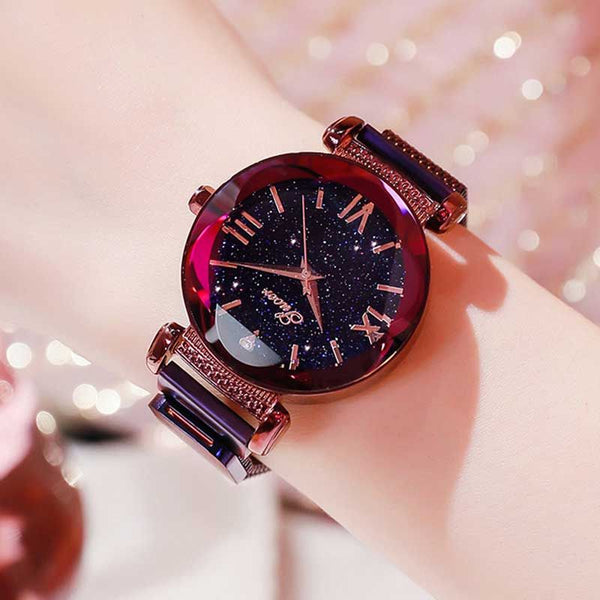 Fashion Star Watch with Sparkling Stones