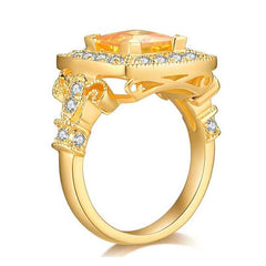 Magnificent Princess Cut Ring