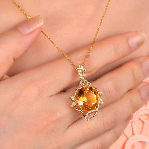 Butterfly Collecting Honey--Sweet Lucky Life Necklace