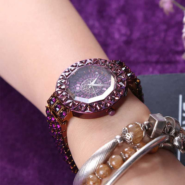 Luck Has Turned Steel Bracelet Fashion Watches
