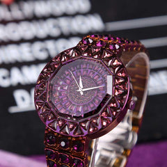 Mermaid Fully Studded With Crystals And Diamonds Fashion Watches