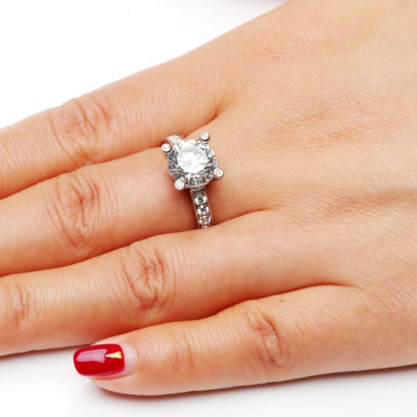 Brilliant Angel Eyes Ring