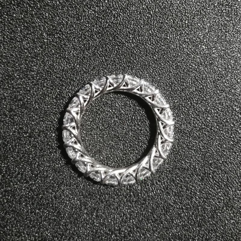 wedding band Sterling Silver Ring