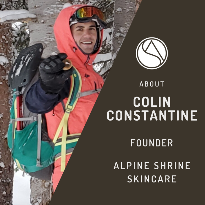 Interview with Alpine Shrine Skincare Founder, Colin Constantine
