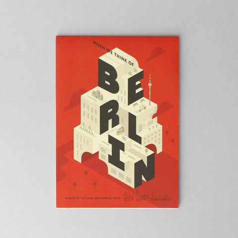 Mapa Herb Lester / When we think of Berlin