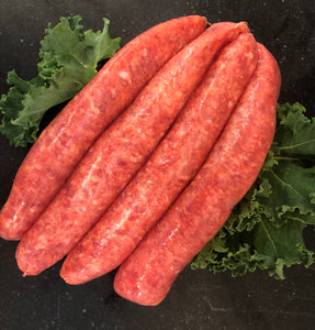Lean Beef Sausages