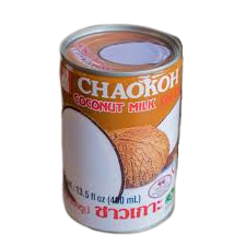 THAI COCONUT MILK CHAOKOH CAN BUY HERE IN THE UK