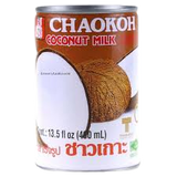THAI SHOP IN THE UK STOCKING COCONUT MILK BY CHAOKOH