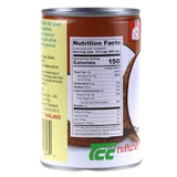 NUTRITION INFORMATION CHAOKOH COCONUT MILK 400ML CAN