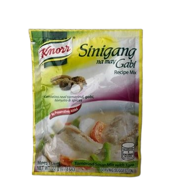 Knorr Sinigang Tamarind and Gobi soup mix