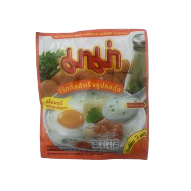 thai style jok porridge prawn flavour by mama