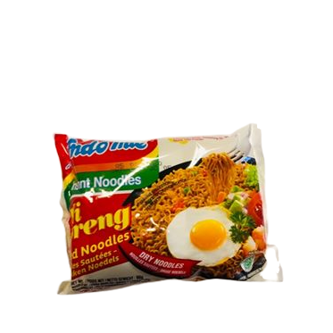 Indonesian and Malaysian instant noodles Nasi Goreng by Indomie brand. Siam Thai Market Cardiff also stocks a range of Malaysian, Indonesian and Filipino food, groceries and supplies