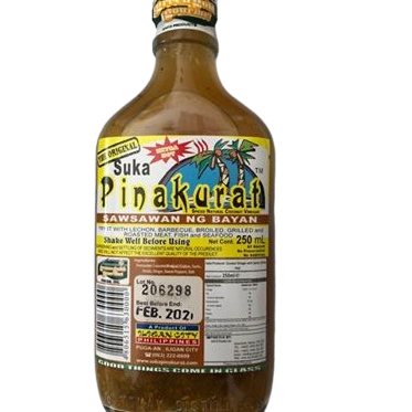 Suka Pinakurat spicy vinegar favoured in the Philippines now here for sale in the UK