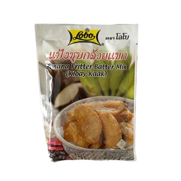 batter mix for thai banana fritters authentic thai brand lobo is here in the uk