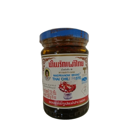Thai shops in the UK rate this brand as one of the best - Mae Pranom Chilli paste available in the UK