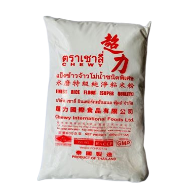 want thai rice flour? get the famous Chewy brand in the UK. Imported from Thailand and sold by Siam Thai Market