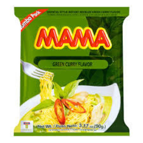 mama noodles here in the uk. Thai green curry flavour from Siam Thai Market. You can buy online or from our Thai and Asian supermarket in Cardiff, Wales, UK