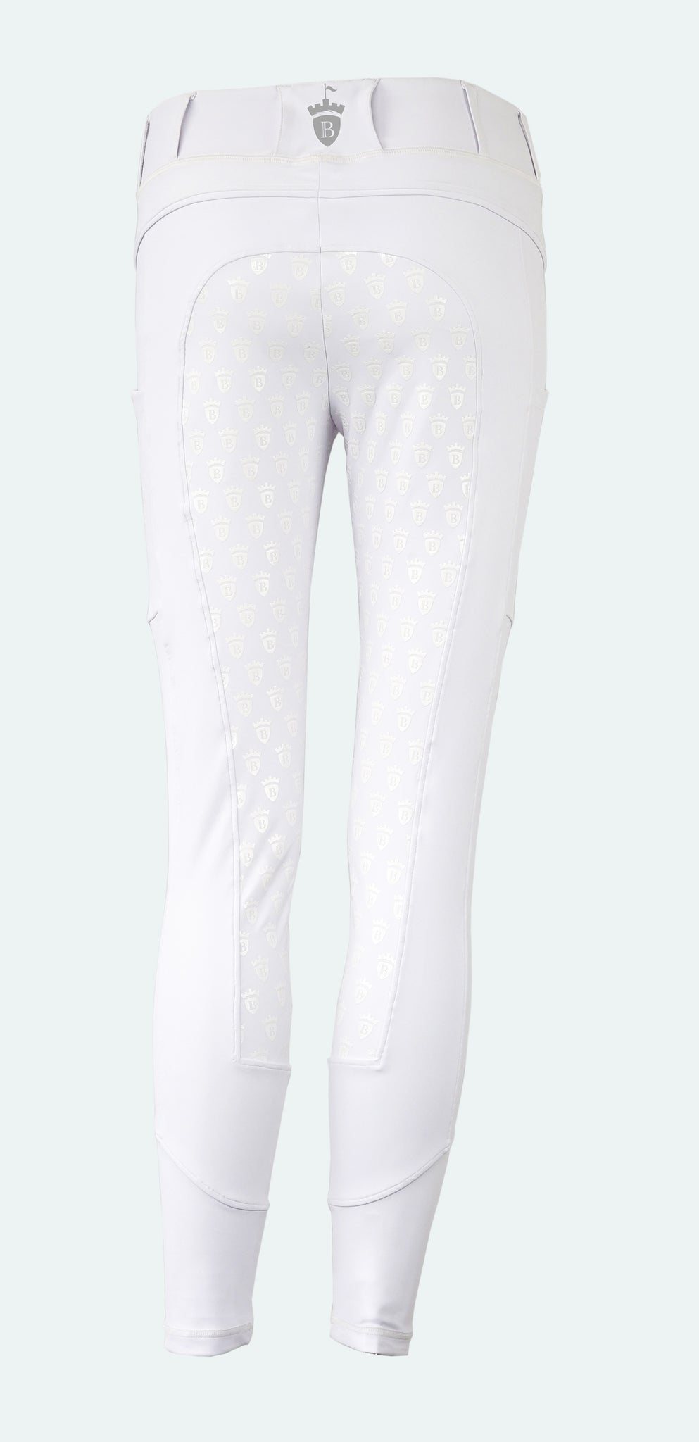 White Blackfort Equestrian Riding Competition Tights