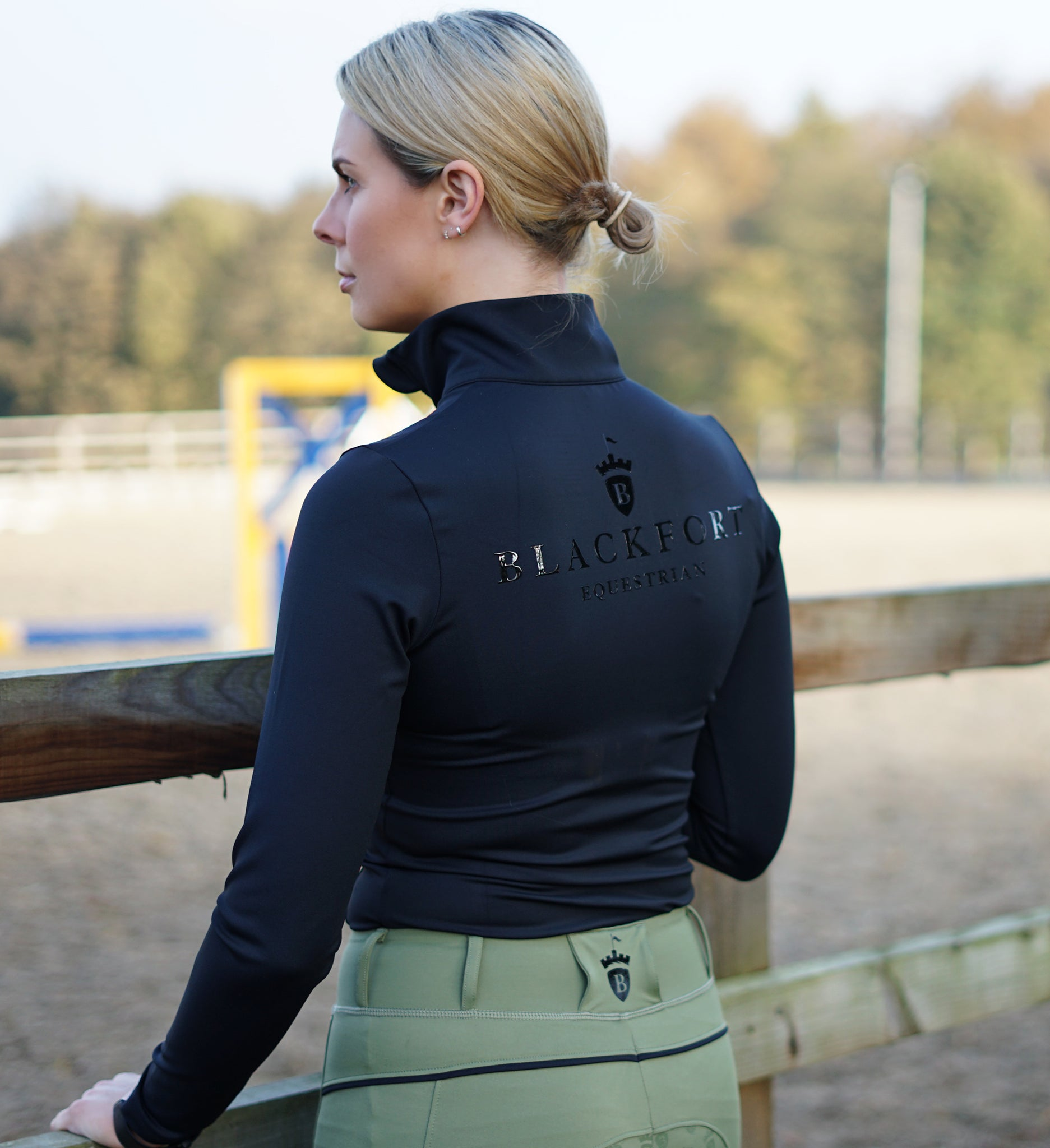 Black Blackfort Base Layer - Long Sleeve