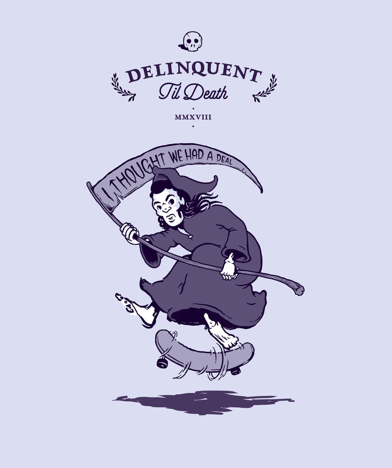 """Delinquent til Death"" Wine Club Membership"