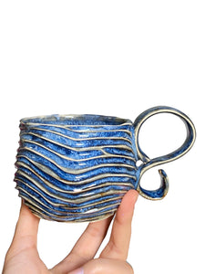 'Another Blue' Seabed Mug