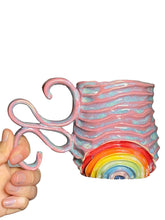 Load image into Gallery viewer, 'Shell Pink' Rainbow Seabed Mug (2)