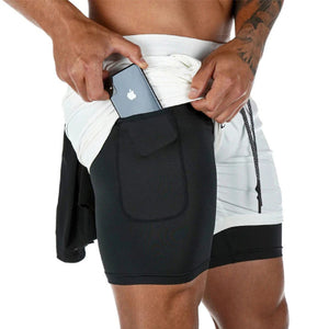 Running Shorts Men Quick Dry