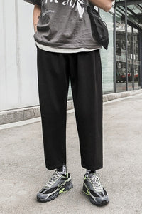 Elastic Waist Casual Ankle Sweatpants