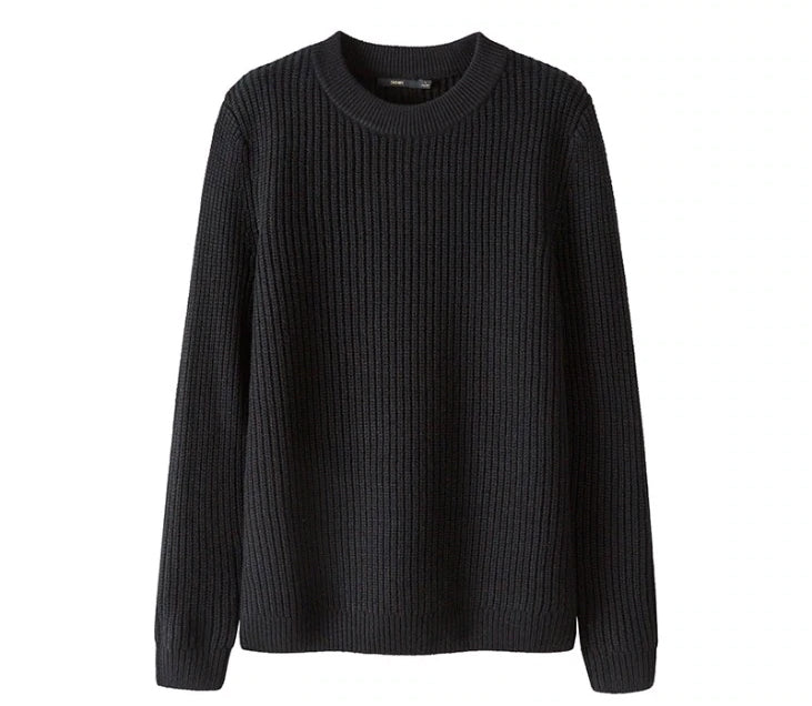 Men's Slim Fit Thick Knit Warm Sweater