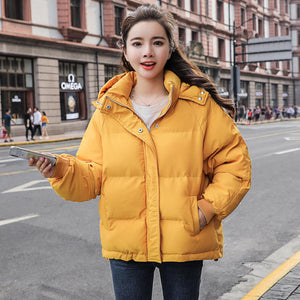 Thick Oversize Hooded Parka Coat