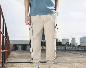Men's Harem Cargo Joggers Pants