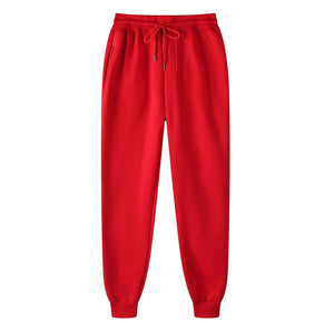 Casual Pants Slim Full Length Trousers