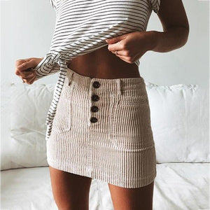 Casual Knitted Bodycon Pencil SKirt