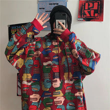 Load image into Gallery viewer, Hip Hop Cartoon Oversize Hoodie
