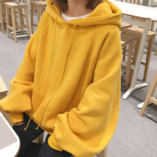 Loose Style Oversized Hoodie