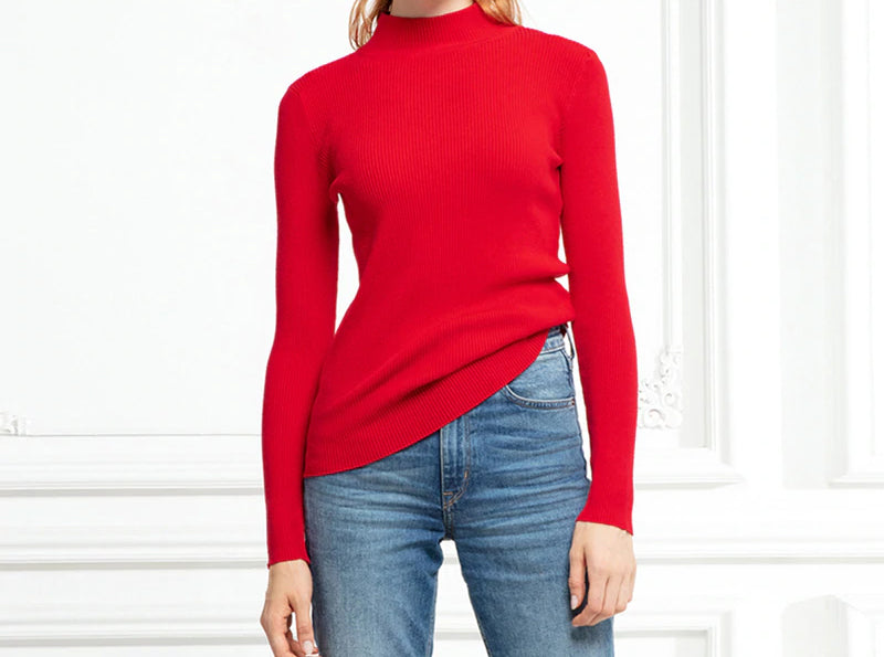 Turtleneck Sweater Long Sleeve