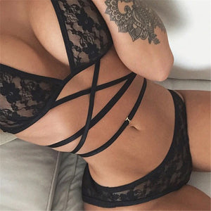 Sexy Erotic Lingerie Lace Set