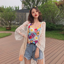 Load image into Gallery viewer, Cute Colorful Floral Camisole Tops