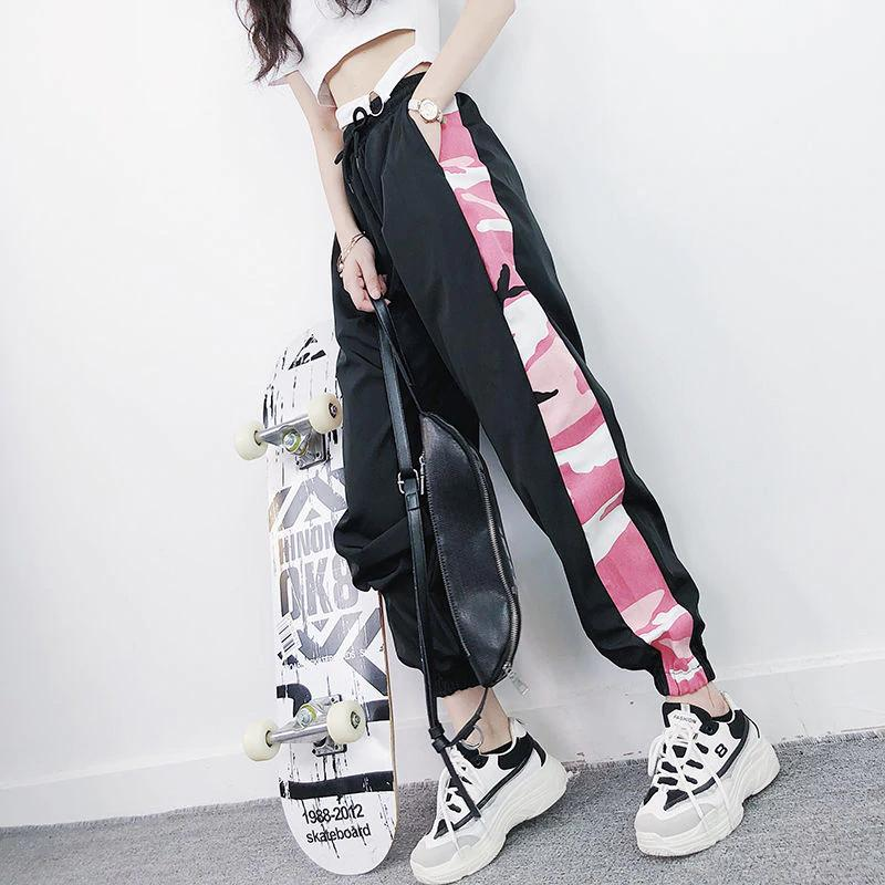 Side Camouflage Pattern Jogger Pants