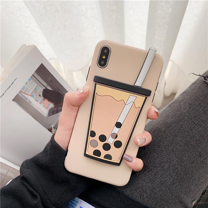 Boba Milk Cup Case For iPhone