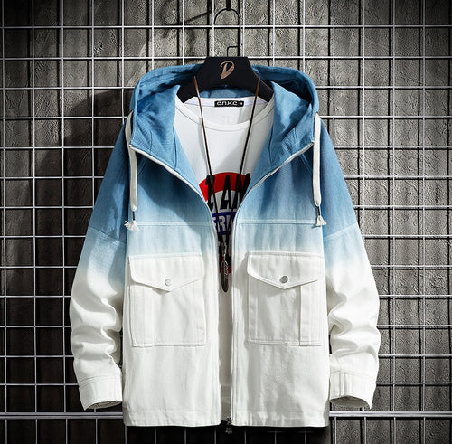 Men's Casual Hooded Jacket Coat