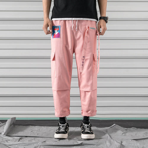 Character Embroidered Cargo Pants