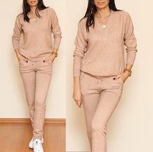 Load image into Gallery viewer, Women Sweater Thick Soft Artificial Wool Knitted