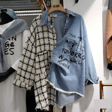 Load image into Gallery viewer, Two Style Printed Denim Shirt and Coat